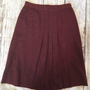 1960's Wool skirt.